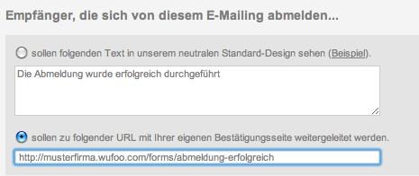 gutscheine.de newsletter abmelden